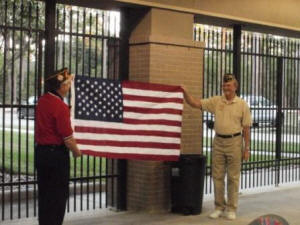 Click on Photo to view Gallery - Flag Etiquette Training for Boy Scouts October 2011