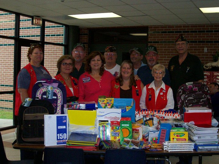 Click on Photo to view Gallery - School Supply Donation to Lamar Elementary