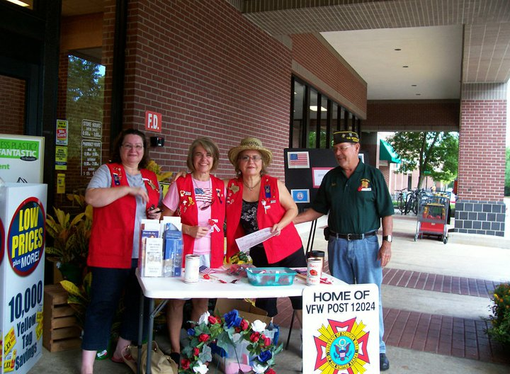 Click on Photo to view Gallery - Buddy Poppy Drive September 2010