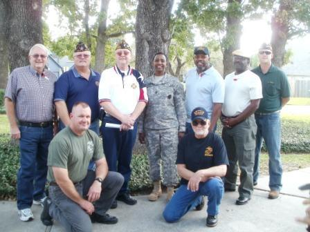 Click on Photo to view Gallery - Veterans Day Events November 2011